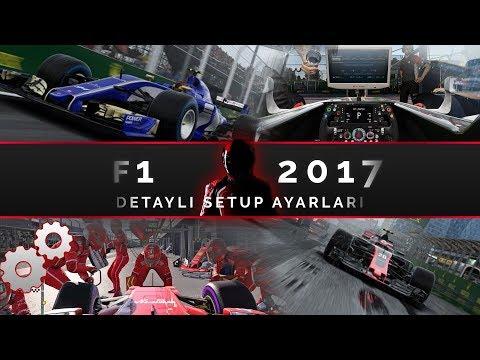 F1 2017 Setup Rehberi ve Detaylı Açıklamalar