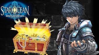 Star Ocean Integrity and Faithlessness LOCKED TREASURE CHESTS (PS4) 1080p HD