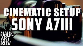 Sony A7iii Setup All Cinematic Functions