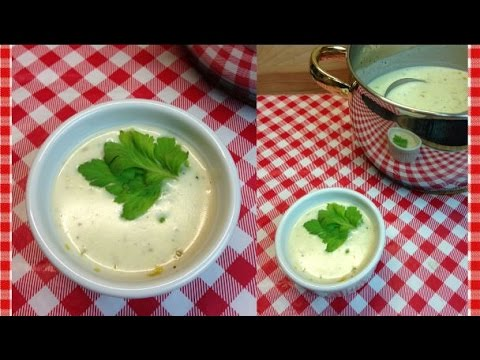 Homemade Cream of Celery Soup Recipe ~ How To Make Cream of Celery Soup ~ Noreen's Kitchen