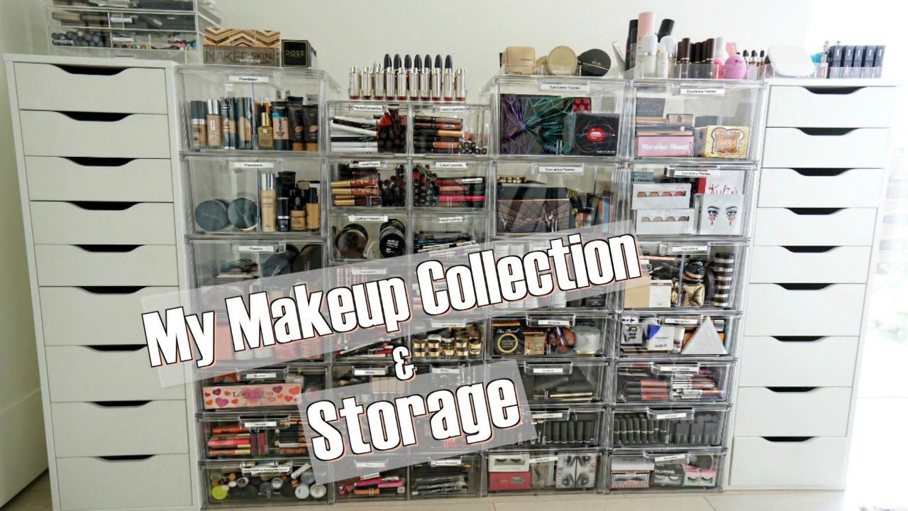 My Makeup Collection And Storage YouTube