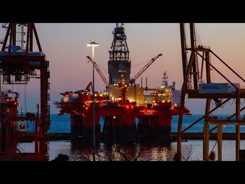 Offshore Rig Ambient sounds - 3 Hours (Tomb Raider 2)