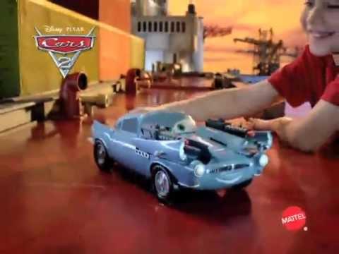 Cars  Secret Spy Attack Finn Mcmissile