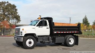 1994 GMC C7500 TopKick 5 Yard Single Axle Dump Truck for sale