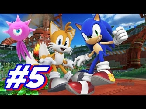 sonic colors how to play
