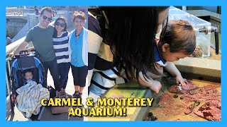 Carmel-by-the-sea & Monterey Bay Aquarium!