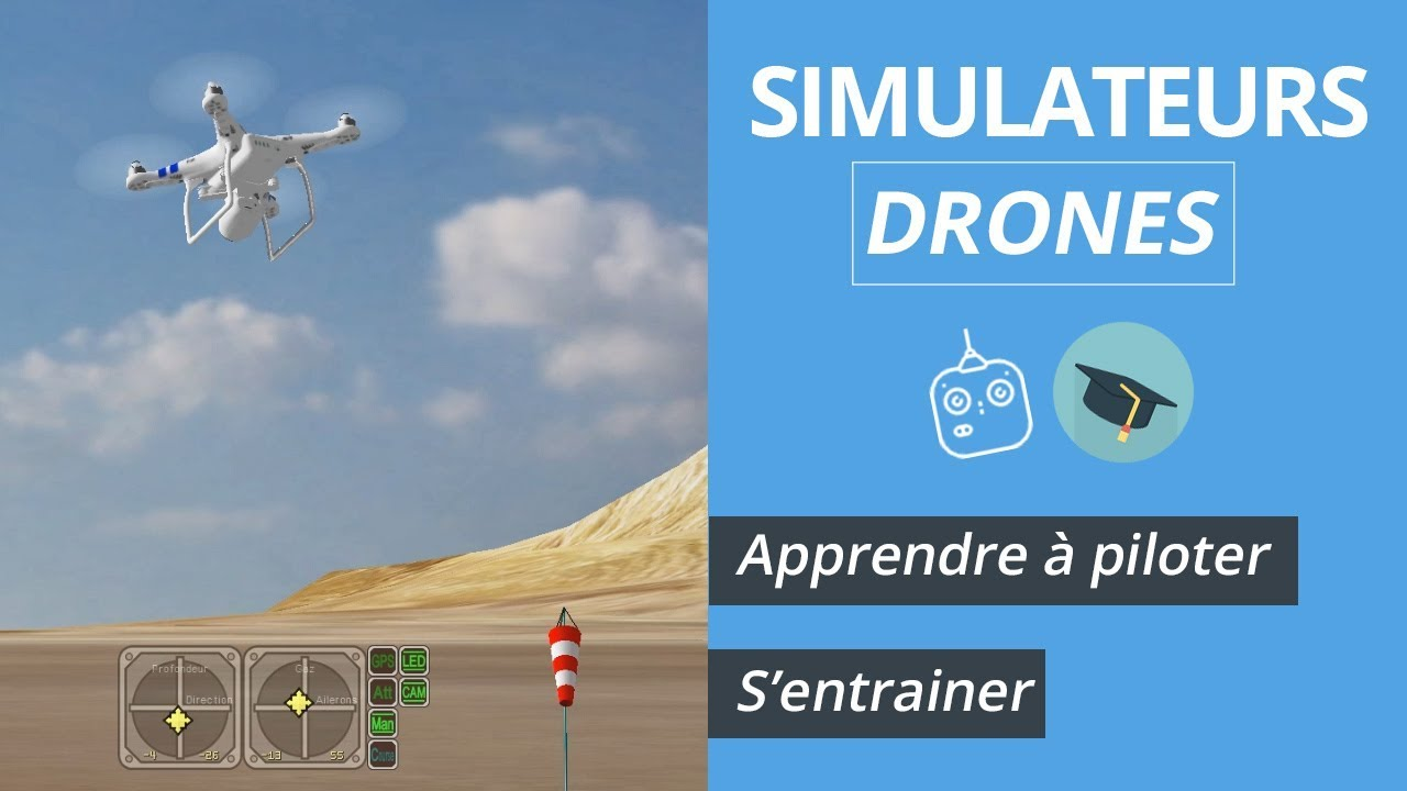 simulateurs drones s entra ner apprendre piloter un drone durant l 39 hiver youtube. Black Bedroom Furniture Sets. Home Design Ideas
