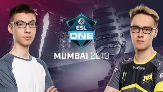 Natus Vincere vs. TEAM TEAM  - Game 2 - Group A - ESL One Mumbai 2019