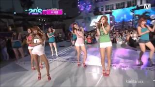 HD 120628 SISTAR -  Loving U (Comeback Stage) LIVE  |K-pop|