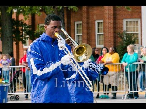 Cincinnati Music and Arts Program Marching Band performs in the 2016 KSU Homecoming Parade