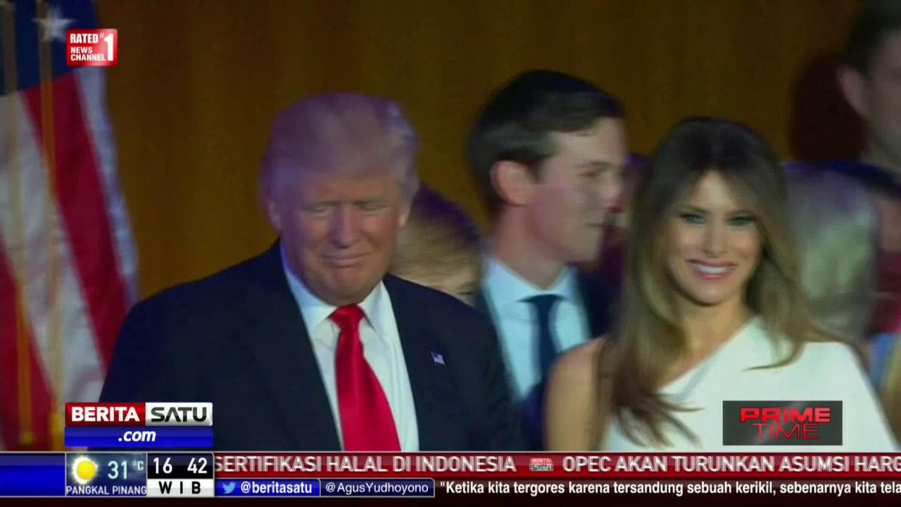 Kantongi 276 Electoral Vote, Trump Menangi Pilpres AS