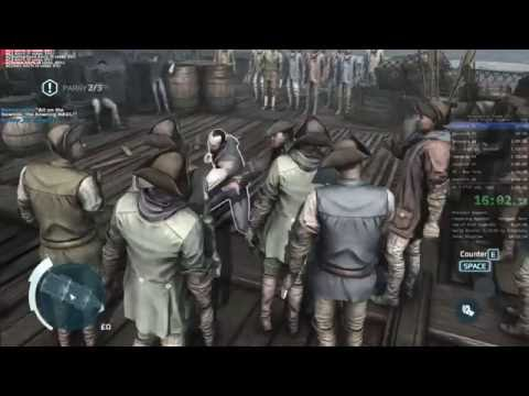 Assassin's Creed III Any% Speedrun (5:11:14 RTA)