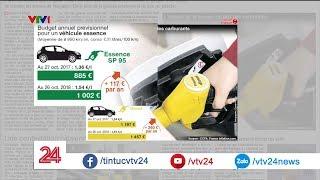 Pháp: giá xăng dầu leo thang chưa từng có | VTV24