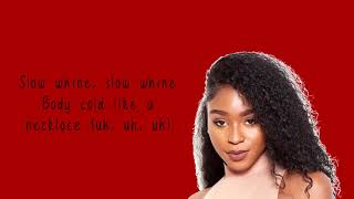 Normani X Calvin Harris ft. Wizkid I Checklist (Lyrics)