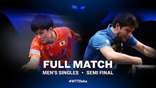 Tomokazu Harimoto vs Dimitrij Ovtcharov | WTT Star Contender Doha 2021 - March (FULL Match)