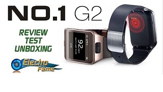 No1 G2 Review: Test and Unboxing - Tutorial Synchronisation Smartwatch No1 G2