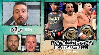 UFC 251 Breakdown with Dan Hardy's Open Mat | Usman v Masvidal, Volkanovski v Holloway, Yan v Aldo
