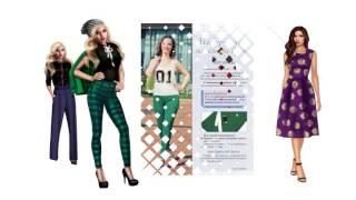 Техники шитья: платья, юбки, брюки.