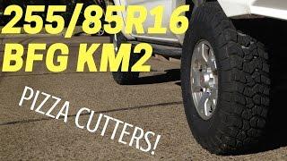 TOYOTA TACOMA  with 255 85 R16 BFG KM2 |  Tall Skinny Mud Terrain Tires