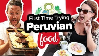 Eating Cow Heart & Ceviche. Lima, Peru Food Tour 🍽 Food Capital of South America