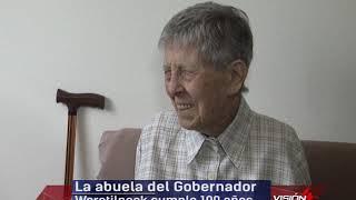 11 10 19  MARGARITA VON HOLTUM  Antigua pobladora de El Bolsón   La abuela del Gobernador Weretilnec