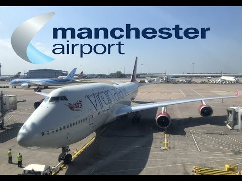 Manchester Airport - T2 Aircraft Movements