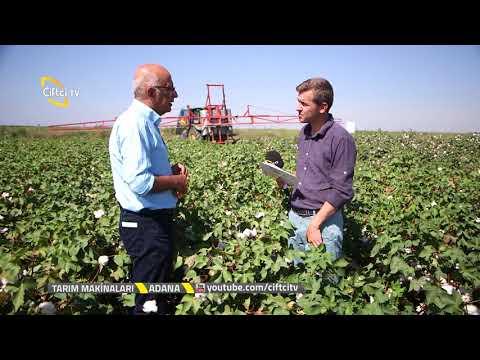 Tarım Makinaları / Adana / Pamuk Hasadı Öncesi Defoliant Uygulaması