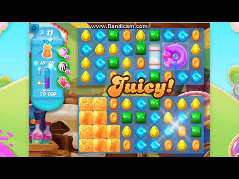 CANDY CRUSH SODA Saga Level 2101 ★★★