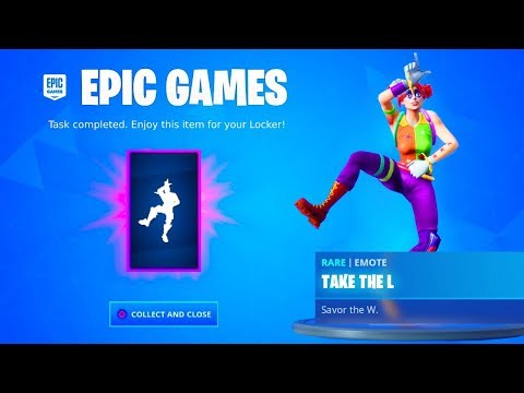 CLAIM YOUR FREE EMOTE In Fortnite! (NEW)