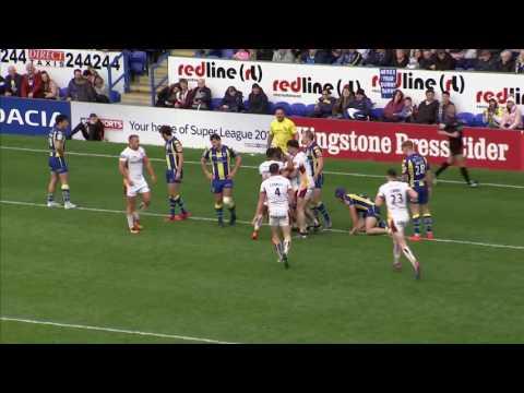Warrington Wolves v Huddersfield Giants, 17.04.17