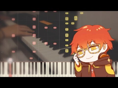 [707 테마/Chat Theme] Geniously Hacked Bebop- Piano Cover w/ Synthesia (Mystic Messenger)