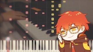 707 테마 Chat Theme Geniously Hacked Bebop Piano Cover W Synthesia Mystic Messenger