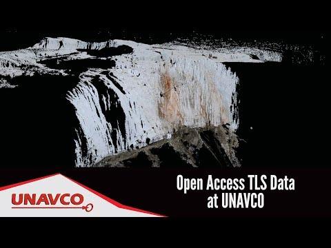 Open Access Terrestrial Laser Scanning Data at UNAVCO