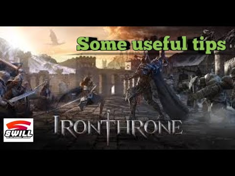Iron Throne | some useful tips