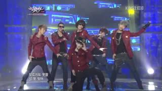 120210 Music Bank Teen Top-Crazy