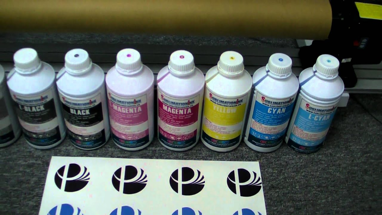 Gogopress provide high quality Dye Sublimation Ink for Inkjet printing to  heat transfer to garment