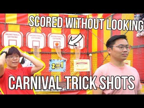 CARNIVAL TRICK SHOTS! - Arcade Ninja