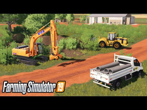Use Pipes To Connect Watertower With A Hydrant Mining & Construction Economy  Farming Simulator 19