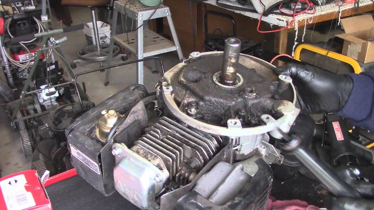 Kohler XT6 Mower Engine Oil Leak Diagnose  YouTube