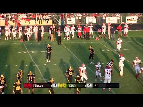 2017 Football: Uintah at Union