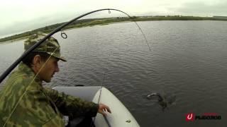 Сто пудов рыболов - Щук идет (ловля щуки), Челябинская область (21.07.13)