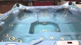La Spa Hot Tub 52 Jets Fiber Optic Lights Stereo (4) Speakers (3) Waterfall The Spa Guy Nashville