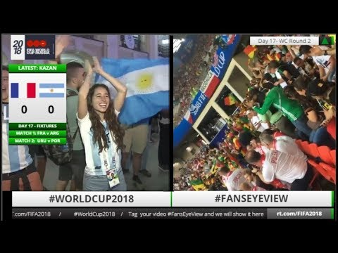 World Cup 2018: Fans Eye View (LIVE & TAPE)