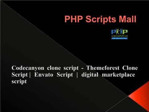 Best Selling Digital Marketplace Script | Codecanyon Clone Script | PHP Scritps Mall