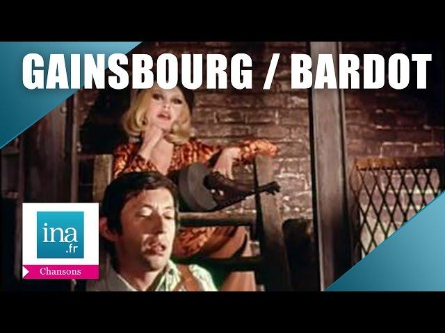 Serge Gainsbourg et Brigitte Bardot