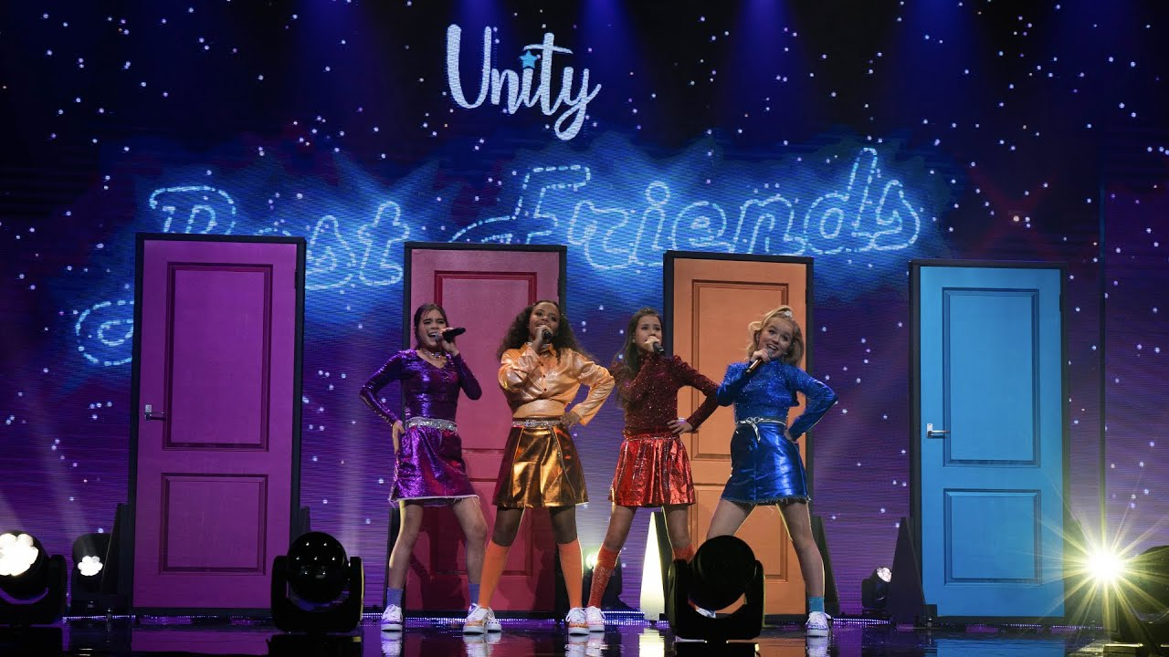 UNITY -  BEST FRIENDS 🎵 | OPTREDEN JUNIOR EUROVISIE SONGFESTIVAL 2020