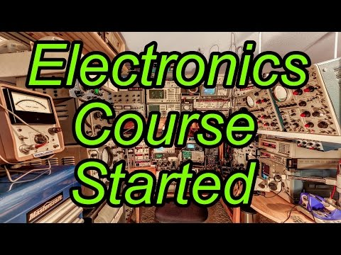 Electronics Course Has Started, and Patreon Intro