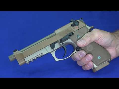 Beretta M9A3 9mm Pistol Review & Shooting Footage