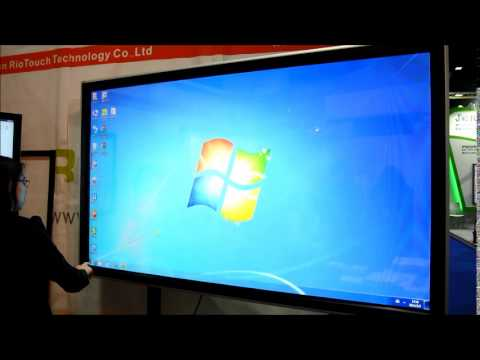 Riotouch all in one touch screen monitor
