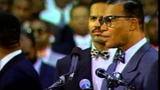 Louis Farrakhan: The Pain of Being a Black Man in White America Part 4